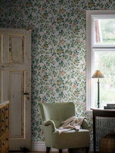 Interior Simple, Interior Design, My New Room, Pattern Wallpaper, Wallpaper Samples, Print Wallpaper, Pendant Chandelier, Pendant Lighting, Rustic Style