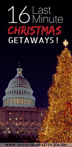 16 of the greatest christmas destinations. Get into the christmas spirit by visiting one of these 16 fantastic locations around the world! Christmas Holiday Destinations, Christmas Getaways, Christmas Markets Europe, Christmas Travel, Christmas Vacation, Holiday Travel, New York Christmas, Christmas Holidays, Christmas Ideas