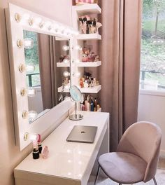 21 Amazing Dream Rooms Decor Ideas For Teens Bedrooms Small Spaces Wonderful Tee. 21 Amazing Dream Rooms Decor Ideas For Teens Bedrooms Small Spaces Wonderful Teen Bedrooms Amazing Beauty Room Decor, Teen Room Decor, Room Ideas Bedroom, Bedroom Decor, Gold Room Decor, Makeup Room Decor, Girl Bedroom Designs, Stylish Bedroom, Aesthetic Room Decor