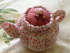 Куклы, Мастер-класс Шитьё: МК Чайник для чайной феи Ткань. Фото 1