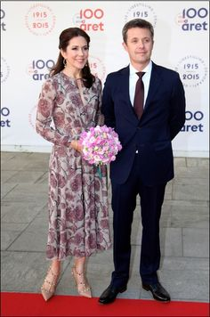 2015.06.04: Crown Prince Frederik & Crown Princess Mary attended the celebration of 100 years with the constitution (1915-2015)