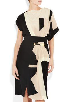 Silk crepe de chine dress $2,785 Vionnet Net-a-Porter