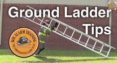 Ground Ladder Tips Firefighter Tools, Firefighter Training, Firefighter Paramedic, Fire Training, Training Tips, Firefighter Photography, Fire Drill, Search And Rescue, Fire Dept