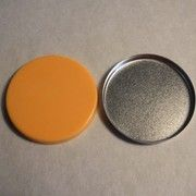 29 mm round silicone pressing pad