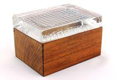 A vintage Scandinavian teak and glass box. Skruf Swedish mid century design.2of2 in Collectables, Vintage/ Retro, 1960s   eBay