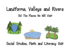 Landforms, Maps and Globes is a Social Studies, Math and Literacy aligned with Common Core Standards and Essential Standards. The unit includes:L...