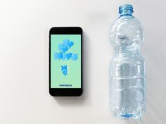 Up Up Hippo. PepsiCo recycling game controlled by an empty plastic bottle, not touch of your fingers. Available for android: https://play.google.com/store/apps/details?id=air.pl.deloittedigital.upuphippo  And ios: https://itunes.apple.com/app/id1106487874