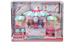 Give your nails a scent-sational makeover with the Num Noms Nail Polish Maker. Mix your own scented nail polish with strawberry, blueberry, banana nail poli...