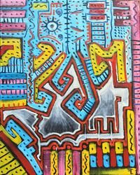 Jouissance divine by Flavien COUCHE Outsider Art, The Outsiders