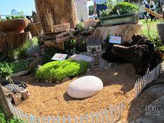 Perennial miniature garden display Perth, Perennials, Miniatures, Display, Garden, Floor Space, Garten, Billboard, Lawn And Garden