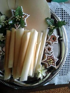 Czech Recipes, Recipe Box, Christmas Cookies, Recipies, Candles, Meals, Baking, Basket, Recipes