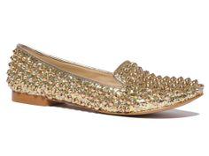 #studded loafer