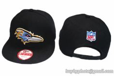 1890f1c5907 Baltimore Ravens Snapback Hat Old Style NFL Adjustable Cap All Black All  Black