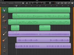 """Garageband on iPad - my """"recording studio""""! (It's all I need for now anyway)"""