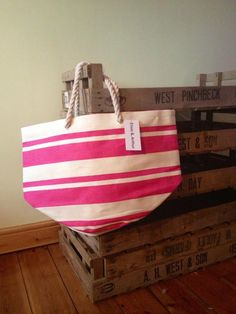 A sneak peek at our new Beach Bag - perfect for that sunny summer we're going to have...