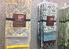 i need the Blue/Brown towels for the kitchen! Kitchen Redo, Kitchen Towels, New Kitchen, Kitchen Ideas, Grey Yellow Kitchen, Decorating Ideas, Decor Ideas, Apt Ideas, Queen