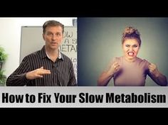 If your metabolism slow? Watch this video to learn how to fix your metabolism for good. Timestamps: Metabolism is vital to your health The foundati. Dr Eric Berg, Dr Berg, Metabolic Diet, Ketogenic Diet, Paleo Diet, Fast Weight Loss, Weight Loss Tips, Losing Weight, Slow Metabolism