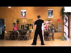 Merengue Lesson Double Arm Drape and Turn