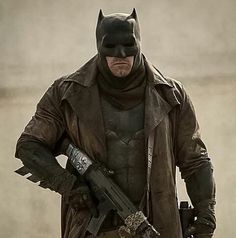 """Knightmare"" Batman. I love that trench coat!"
