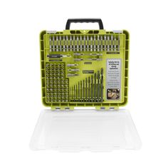 Ryobi introduces the Ryobi Drill and Drive Kit. This kit is extremely versatile and includes bits for all drilling and driving needs. This kit includes black oxide bits which are ideal for drilling Ryobi Tools, Best Electric Grill, Dewalt Impact Driver, Drill Bit Sizes, Corded Drill, Black Oxide, Drill Driver, Kit