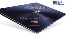 ASUS ZENBOOK 3 - Iba 950 gramový ultrabook s hrúbkou 11,9mm s celokovovým telom s ikonickým brúseným povrchom. Notebook, Personalized Items, The Notebook, Exercise Book, Notebooks