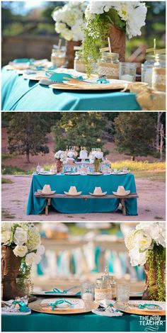 Horseback Riding Party by The Party Teacher - table setting