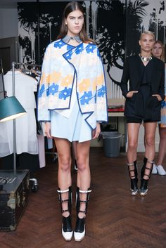 Wenqi Wu, Spring/Summer 2015 Collections, Mercedes-Benz New York Fashion Week