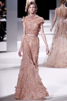 Elie Saab Spring 2011 Couture Fashion Show - Sigrid Agren (Elite)