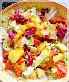 insalata insolita di mango e peperoni