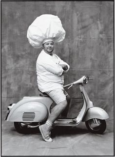 Our latest collection of New Yorker classics explores the culinary life, from Julia Child's early days as a cookbook author to Mario Batali's dream of cooking pasta like his Italian grandmother's: http://nyr.kr/ZoseYH (Photograph of Mario Batali by Ruven Afanador)