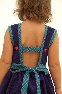 do guincho: plaid bias tape saffron dress (zafarani patterns)