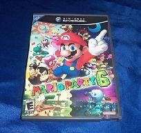 Mario Party 6 Nintendo Gamecube Game! Free Shipping!