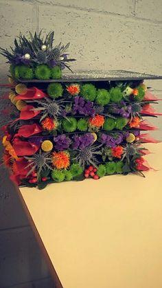 Compression de fleurs