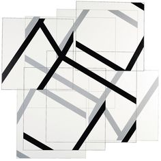 Manfred Mohr, P-407-CC Surface Tension, Computer Art, Generative Art, Geometric Art, Pattern Art, Traditional Art, Installation Art, Graphic Illustration, Tartan