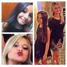 A Miss Vitória Mirim @vitoriaferrarioficial e sua irmã @rtferrari5 prontas para a festa, maquiadas pelo Beauty Team da NYX do Shopping Vitória #beautyservices #professionalmakeup #beautyteam #nyxvitoria #miss