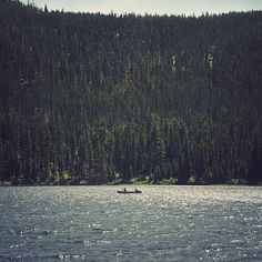 There's something about canoeing that I find very exciting - almost nostalgic without the actual history.