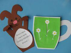 Diy Ostern, Easter Crafts, Easter Ideas, Diy And Crafts, Kindergarten, Jar, Christmas Ornaments, Holiday Decor, Frame