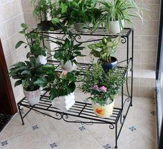suporte para vasos de plantas em ferro - Pesquisa Google
