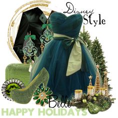 """Disney Style : Belle"" by missm26 on Polyvore"