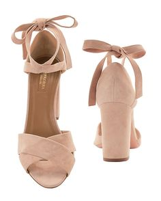 Aquazzura Tarzan Block Heel Sandals