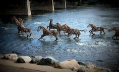 """""""Stick-to-it-ive-ness: Unwavering pertinacity; perseverance"""" by Richard Morse, one of the ArtPrize top 10"""