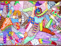 Zentangle Hands done with regular markers - Art I grade classes - by Cory Burton Middle School Art Projects, Show Of Hands, Zentangle, High Art, Zentangle Art, Marker Art, Artsy, High School Art, Arts And Crafts