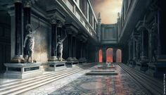 Kingdoms Concept Art - Palace of Rome