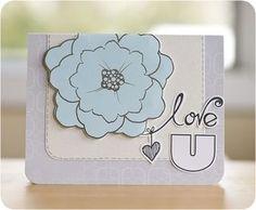 Reflections Card Idea from Creative Memories    www.creativememor...