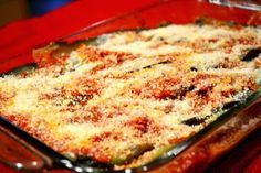 "Eggplant parmesan or ""Melanzane alla parmigiana"" as it is known in Italy is one of my favourite Italian vegetarian recipes. Greek Recipes, My Recipes, Italian Recipes, Cooking Recipes, Italian Cooking, Eggplant Dishes, Eggplant Parmesan, Cetogenic Diet, The Kitchen Food Network"
