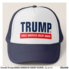 f3326e5b331 Donald Trump MAKE AMERICA GREAT AGAIN trucker hats