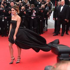 Cheryl Cole Owned Cannes Red Carpet In Her Monique L Hullier Dress Handbag