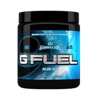 New hot product!!  Great sale going on now!  Gamma Labs: G Fuel - 40 serv. Blue Ice