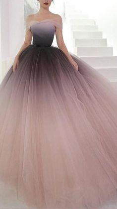Ombre Prom Dresses, Stunning Prom Dresses, Princess Prom Dresses, Prom Dresses For Teens, Prom Outfits, Beautiful Prom Dresses, Formal Dresses For Weddings, Quinceanera Dresses, Pretty Dresses