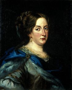 """Christina of Sweden """"Queen regnant of Swedes, Goths and Vandals, Grand Princess of Finland, and Duchess of Ingria, Estonia, Livonia and Karelia, from 1633 to 1654"""" by Jacob Ferdinand Voet"""